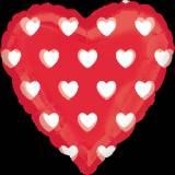 Pallone cuore clear