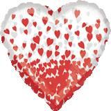 Pallone cuore explosion