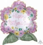 Pallone Fiore happy mother's day festa della mamma