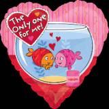 Pallone cuore pesci love