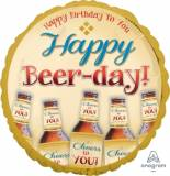 Pallone happy birthday birra