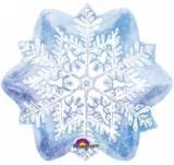 Fiocco di neve blu