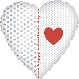 Pallone Cuore Heart & Dot Pattern Dazzler