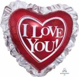 San Valentino cuore I love you con voila