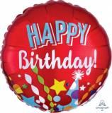 Pallone happy birthday festa