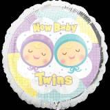 Baby shower rosa celeste pallone