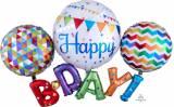 Pallone h.birthday multiballoon