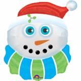 Pupazzo di Neve natalizio