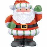 Pallone natale Babbo Natale airwalker