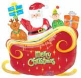 Natale Slitta Merry Christmas