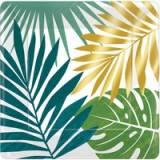 Coordinato piattino foglie tropicali new