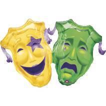 Pallone maschere carnevale