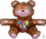 Pallone happy birthday orsetto