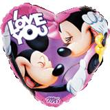 Cuore Mickey & Minnie I Love You