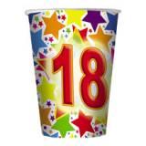 Coordinato bicchiere 18 anni