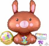 Pasqua tovagliolo coniglio
