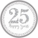 25 anniversario bicchiere