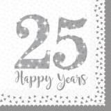 25 Anniversario piatto piano