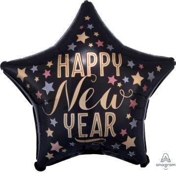 Pallone capodanno Stella happy new year