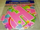 Festone cuori h. birthday rosa