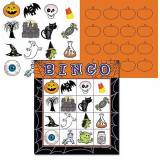 Halloween battz bingo game