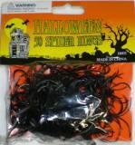 Halloween anelli con ragni
