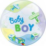 Pallone bubbles baby boy