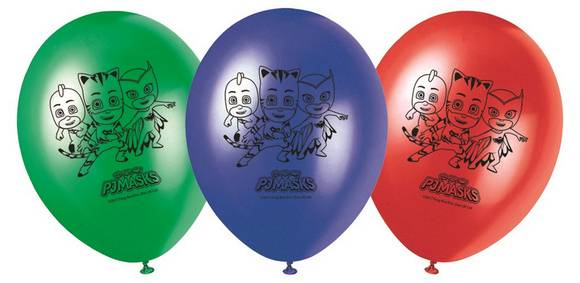 Superpiagiamini pjmasks palloncini lattice