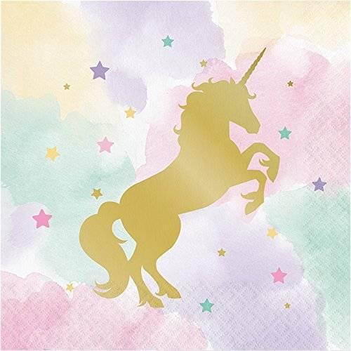 Unicorno gold tovaglioli