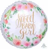 Nascita pallone in myler sweet Baby girl