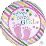 Baby shower piedini baby girl