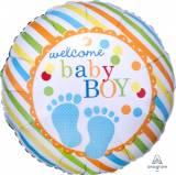 Baby shower piedini baby boy