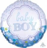 Nascita Scallop con pois baby boy