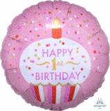 1st Pallone Cupcake girl