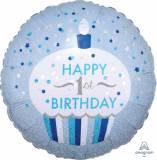 1st Pallone Cupcake boy