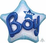 Nascita Stella multiballoon baby boy