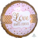 Matrimonio Always & Forever rosa e oro