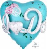 Matrimonio Cuore multiballoon Yes I Do tiffany