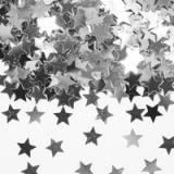 Anniversario confetti stelline argento