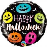 Pallone halloween zucche neon