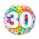 Pallone 30 anni confetti