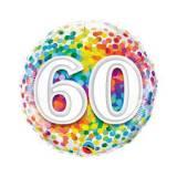 Pallone 60 anni confetti