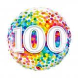 Pallone 100 anni confetti