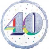 Pallone 40 anni oleografico