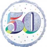 Pallone 50 anni oleografico