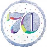 Pallone 70 anni oleografico