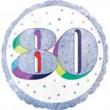 Pallone 80 anni oleografico