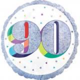 Pallone 90 anni oleografico