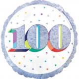Pallone 100 anni oleografico