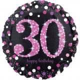 Pallone 30 anni sparkling fucsia